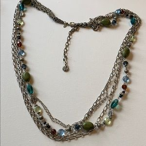 Premier designs long chain beaded necklace